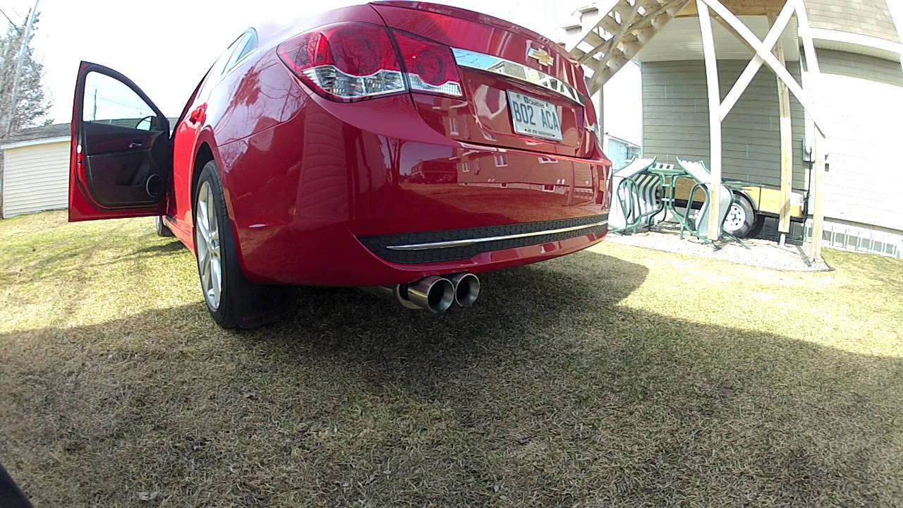 Cruze chevy cruze 1.4 turbo performance upgrades : 2012 chevrolet cruze magnaflow 14805 exhaust properly recorded ...