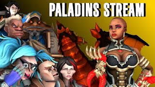 Paladins Stream: 2/23/20 9K SUBS! Viewer games!
