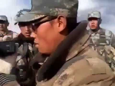 India-Chinese Army Fight At Sikkim Border
