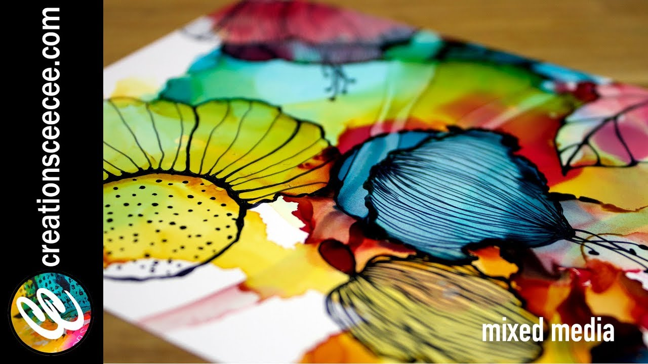 Alcohol Ink Art   Complete Guide on Alcohol Ink Painting