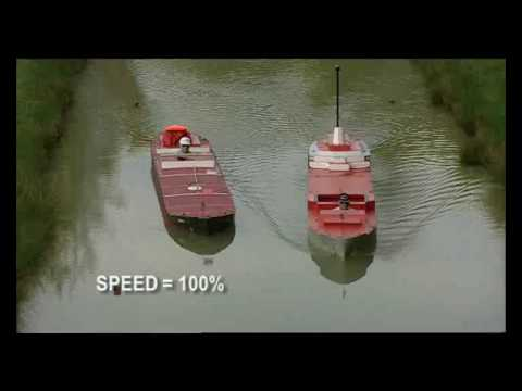 Failed overtaking of another ship in a canal - Port Revel Shiphandling