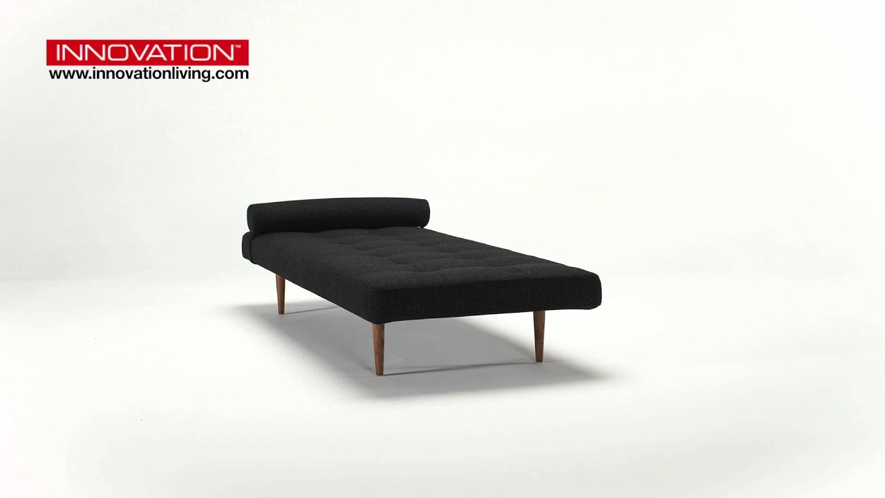 innovation nappe schlafsofa mit holzf ssen youtube. Black Bedroom Furniture Sets. Home Design Ideas