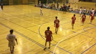 平成27年度 第55回 長野県総合ハンドボール選手権大会 4回戦 Nagano Yeti VS 屋代クラブ 後半