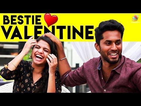 Eniyan & Minion : Bestie Valentine's day  | Mirchi Raghavi | Awesome Machi Interview