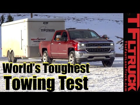 2017 Chevy Silverado 1500 6 2l V8 Vs Ike Gauntlet Review World S Toughest Towing Test
