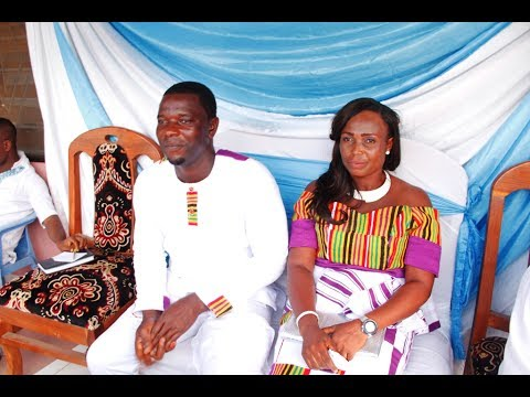 THE MOST INTERESTING WEDDING IN THE WORLD  FROM GHANA  ( LOW BUDGET MARRIAGE )