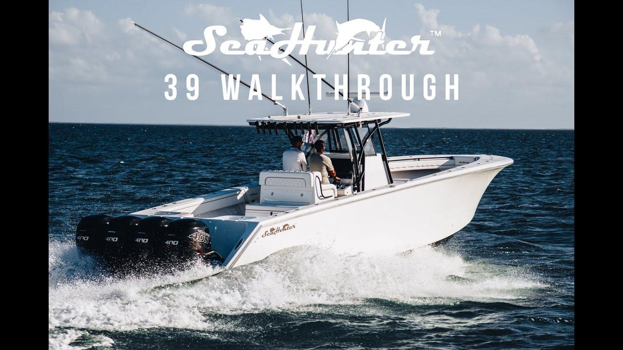 Sea Hunter Boats >> Seahunter 39 Walkthrough Seahunter Boats
