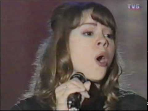 Mariah Carey - Hero in The Sacre Soire France 1994 (Live)