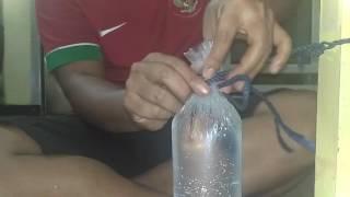 Cara mengikat es batu, es lilin dan sebagainya tanpa karet