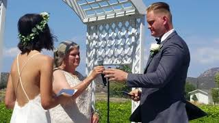 Courtney and Stephen-vows