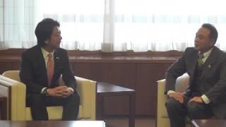 福岡市長 高島宗一郎 福岡市東部農業協同組合からのふくおかハウス建設募金寄付を受けました!