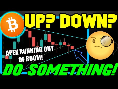 IS BITCOIN EVER GOING TO BREAK UP OR DOWN?! BTC PRICE KEEPS US GUESSING