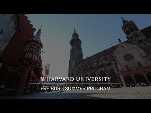 Harvard Summer school takes root in Germany's green city