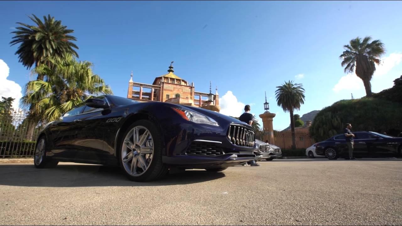 Nuova Maserati Quattroporte 2016 - Clip - YouTube
