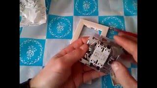Огляд вимикач schnider asfora, блок розетка вимикач орбіта(електрика, установочні компоненти., 2016-03-11T21:01:07.000Z)