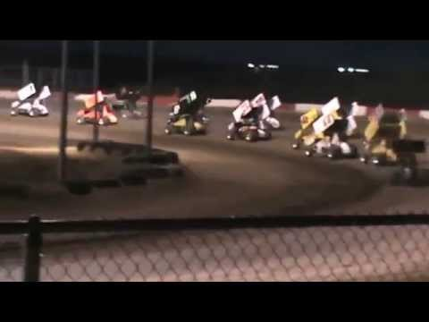 6/7/14 Anthony Farnsworth #10 Main Part 1-Casper Speedway