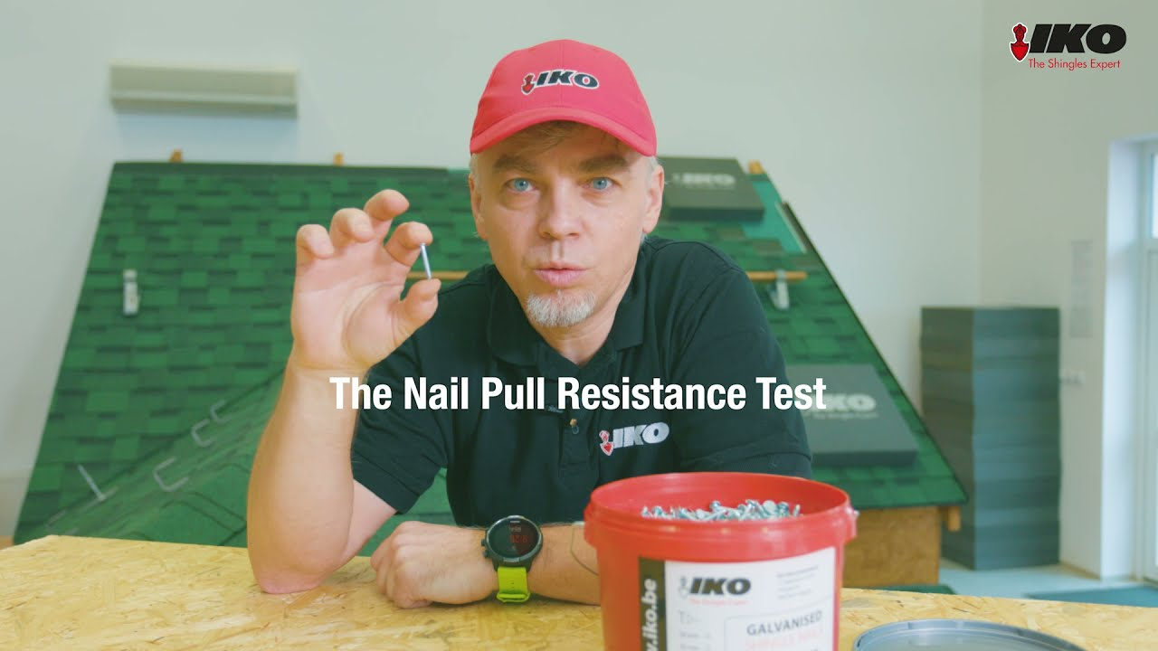 Test: How well do shingle nails hold into an OSB roof deck?
