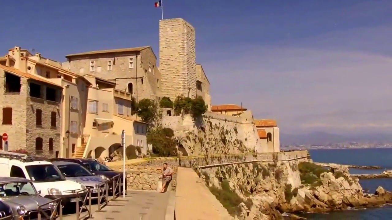 Le vieil Antibes & les Remparts - YouTube