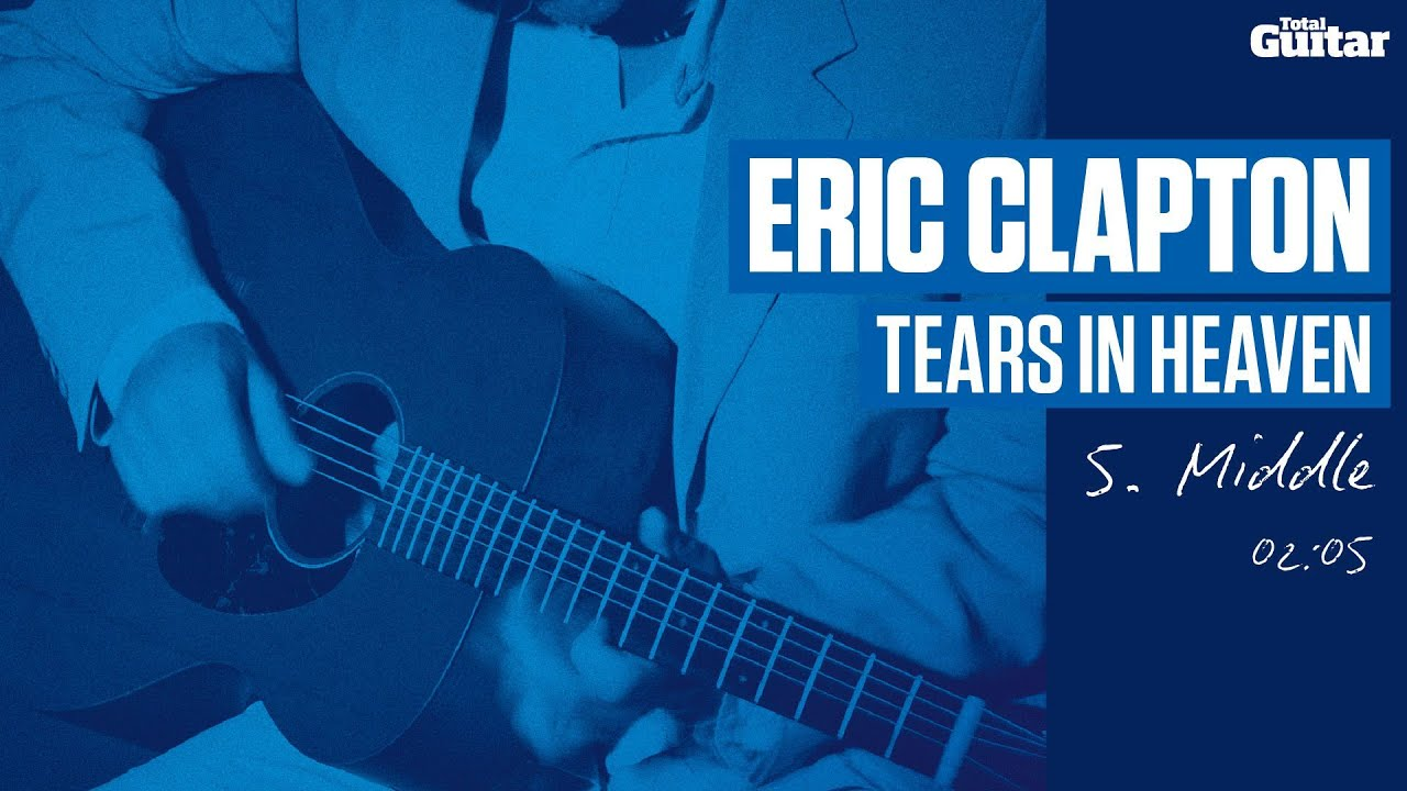 Guitar Lesson: Eric Clapton 'Tears In Heaven' -- Part Five -- Middle (TG213)
