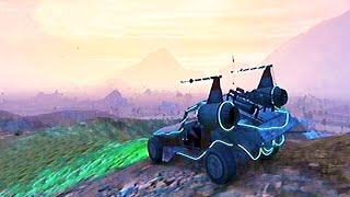 Grand Theft Auto V - All SpaceShip Parts Collected and Buggy Space Docker Off Road [GTAV]