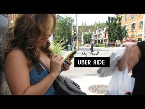 First Uber Ride | Lisa in the city Vlog