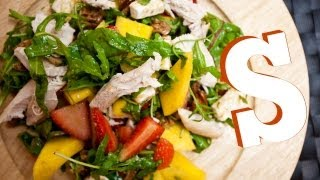 Mango Strawberry & Chicken Salad Recipe - Sorted