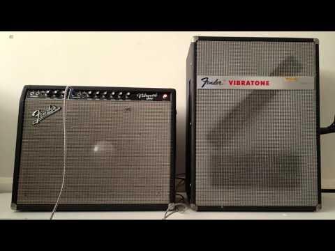 Chris King Robinson | 1968 Fender Vibratone & Fender 1964 Vibroverb