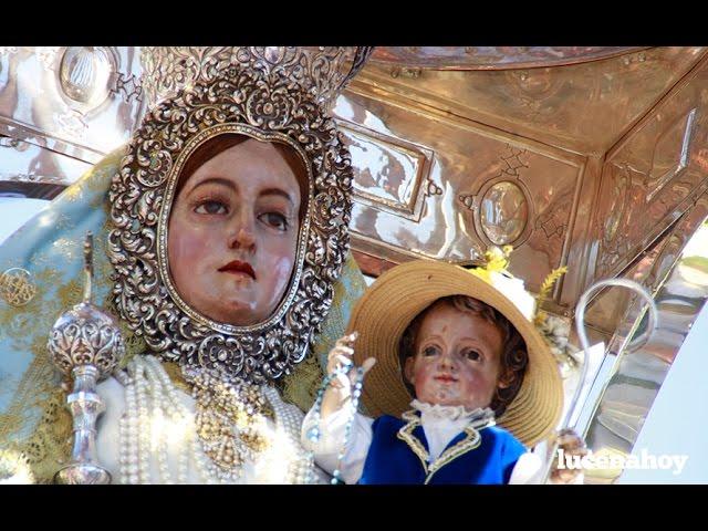 Vídeo: Romería de Subida de María Stma. de Araceli 2016