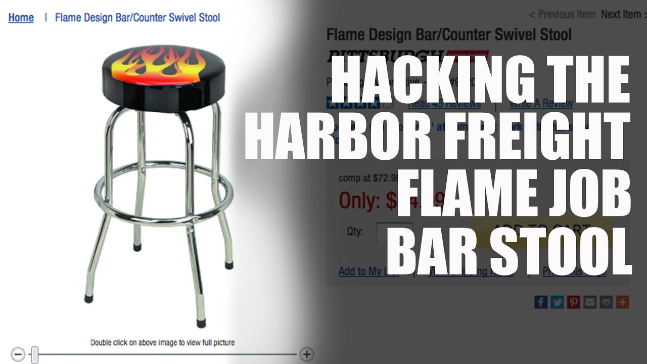 Hacking The Harbor Freight Bar Stool Youtube