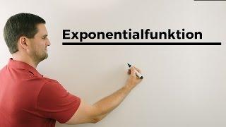 e-Funktion, Gleichungen, Beispiele   Mathe by Daniel Jung