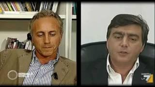 """Walter Lavitola su La7: le domande di Marco Travaglio (""""Bersaglio mobile"""", 28Set2011)"""
