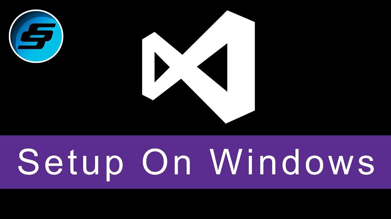 Setup on Windows - Visual Basic Programming (VB NET & VBScript)