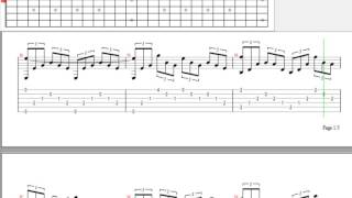 [Guitar Pro] Biệt ly Guitar Solo Tab