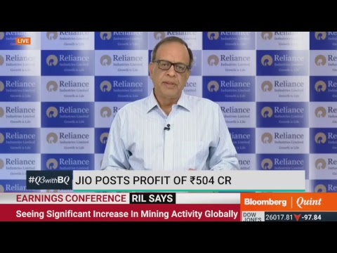 Reliance Industries' Earnings Conference