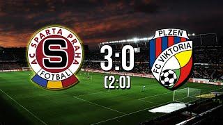 ČESKÝ SUPERPOHÁR | AC Sparta Praha - FC Viktoria Plzeň 3:0 | 18.7.2014