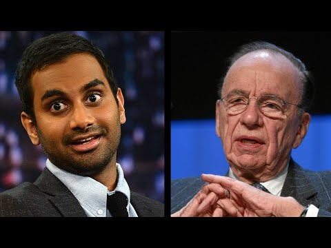 Aziz Ansari Utterly Destroys Rupert Murdoch Over Twitter