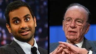 Aziz Ansari Utterly Destroys Rupert Murdoch Over Twitter