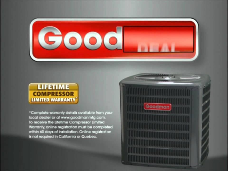 acwholesalers com presents goodman tv spot air conditioning youtube