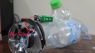 How To Make Air Cool With Bottle Plastic