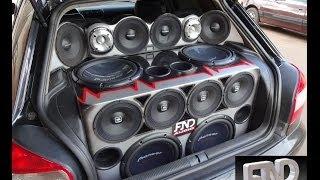Audi A3 - 4 Pioneer + Taramps 2.7 - Projeto FND Audio