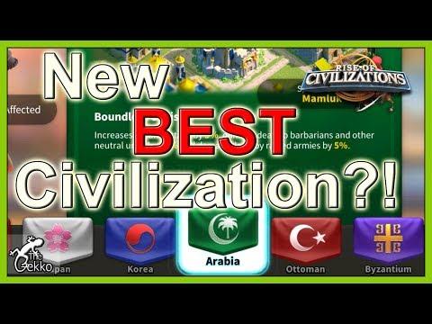 NEW BEST CIVILIZATION?!?! - Rise of Civilizations