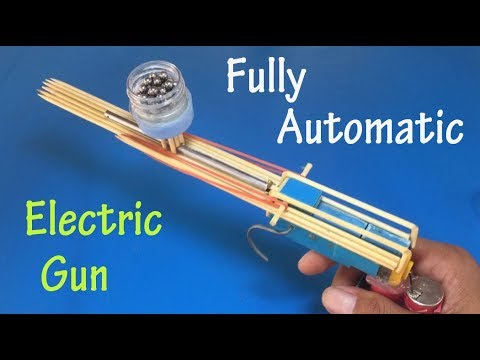 How to make a fully Automatic electric gun