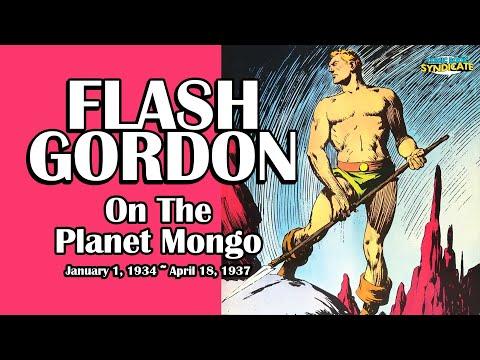 Flash Gordon - On The Planet Mongo | COMIC BOOK SYNDICATE