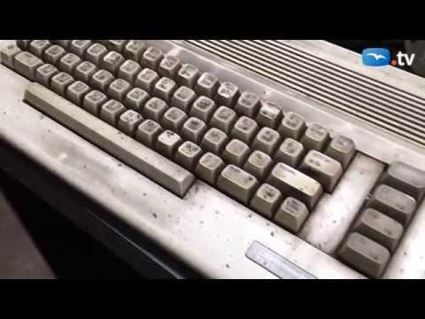 Commodore 64 still in use - auto shop in Poland