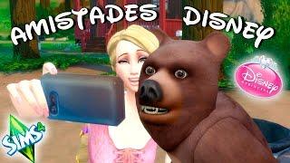 Los osos hablan en el mundo Disney | LOS SIMS 4 - DISNEY #2