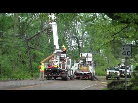 Fishkill, NY - Extensive Storm Damage Cleanup - 5/16/2018