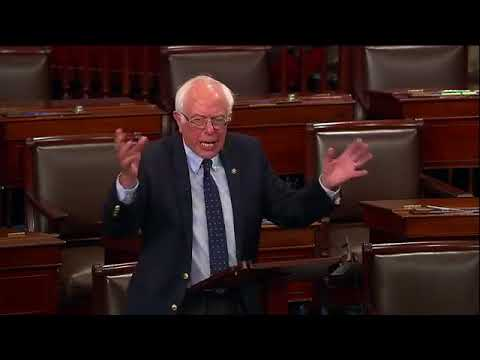 """Bernie Sanders: """"Disgraceful. Pathetic. I have a few things to say about Trump's tax proposal."""""""