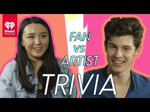 Shawn Mendes Challenges A Super Fan In A Trivia Battle  Fan Vs Artist Trivia