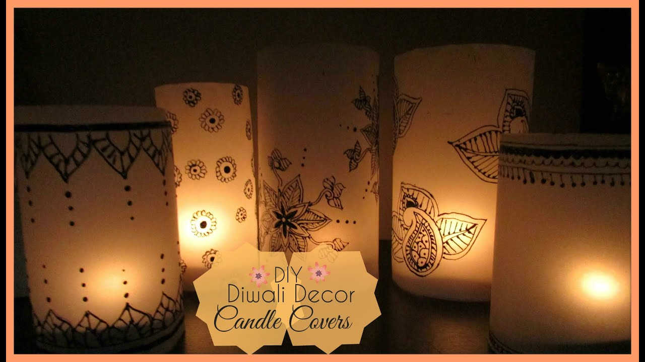 Diy candle covers youtube arubaitofo Images