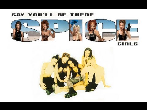 Spice Girls - Say You'll Be There (Lyrics & Pictures)